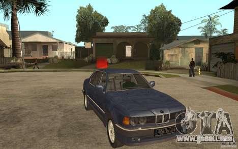BMW 735Li e32 para GTA San Andreas