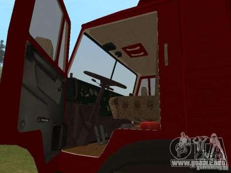 KAMAZ 5325 para la visión correcta GTA San Andreas