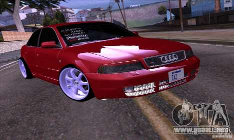 Audi S4 Light Tuning para GTA San Andreas left