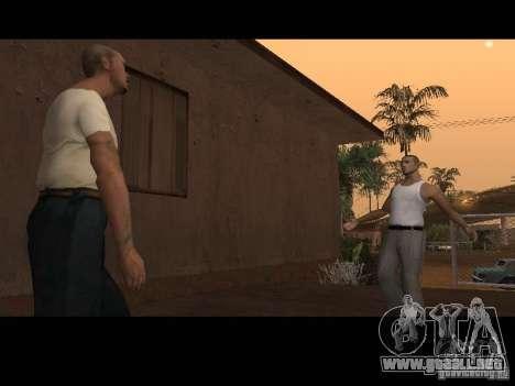 Varrio Los Aztecas para GTA San Andreas sexta pantalla