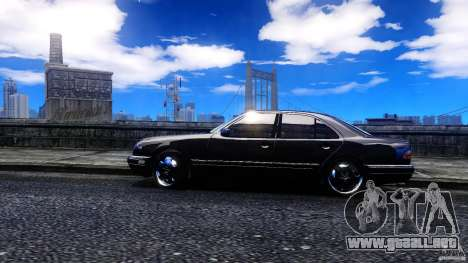 Mercedes-Benz E55 AMG para GTA 4 left