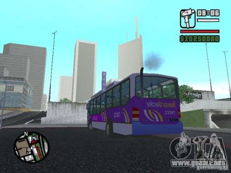 Marcopolo Viale III para GTA San Andreas left