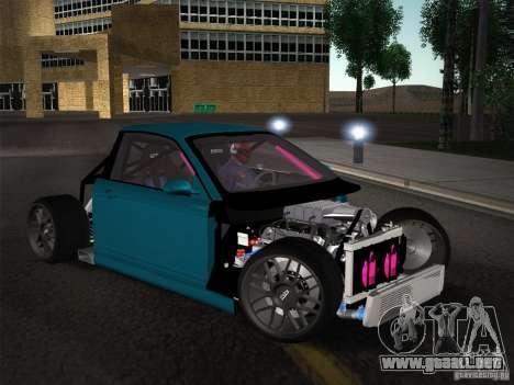 BMW E46 Drift II para vista inferior GTA San Andreas