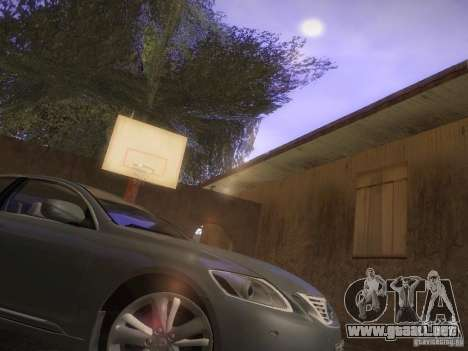 Lexus GS450H para GTA San Andreas left