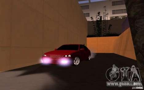LADA PRIORA van tuning para GTA San Andreas vista posterior izquierda