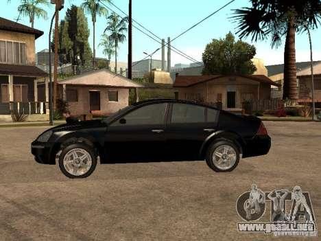 Nissan Teana para GTA San Andreas left