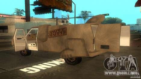Dumb and Dumber Van para GTA San Andreas left