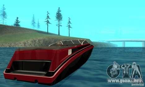 GTAIV TBOGT Floater para GTA San Andreas vista posterior izquierda