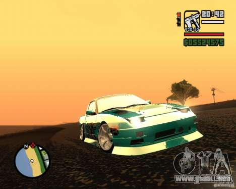 Nissan RPS13 Pick-Up Moscow Drift para GTA San Andreas