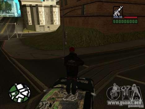 Nuevo vinilo para Cultana para la visión correcta GTA San Andreas