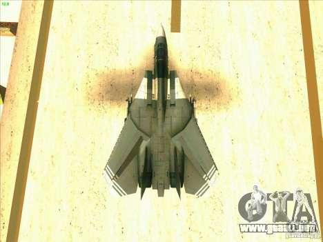 F-14 Tomcat Schnee para el motor de GTA San Andreas