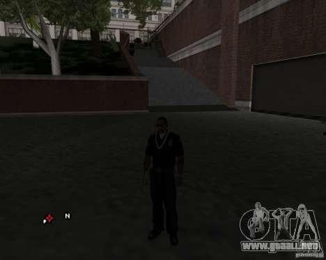 La labor de la policía. para GTA San Andreas segunda pantalla