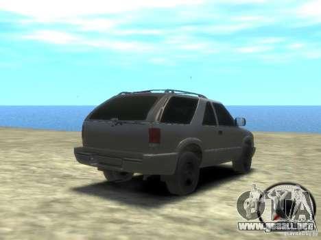 Chevrolet Blazer LS 2dr 4x4 para GTA 4 visión correcta