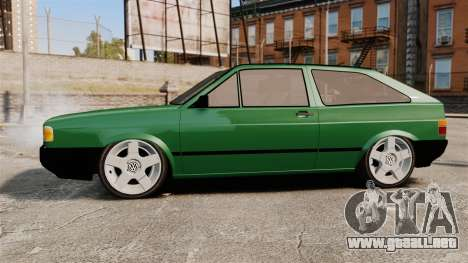 Volkswagen Gol GL 1992 Edit para GTA 4 left