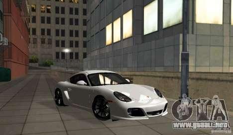 Porsche Cayman R para GTA San Andreas