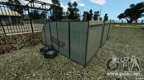 Rusia criminal RAGE para GTA 4 octavo de pantalla
