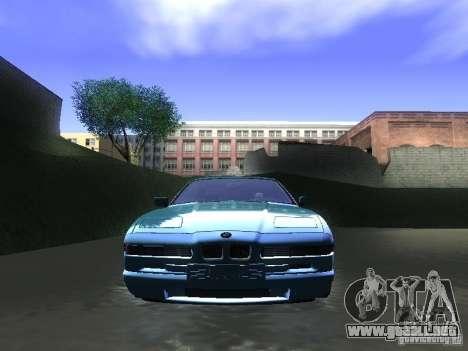 BMW 850CSi 1995 para la visión correcta GTA San Andreas