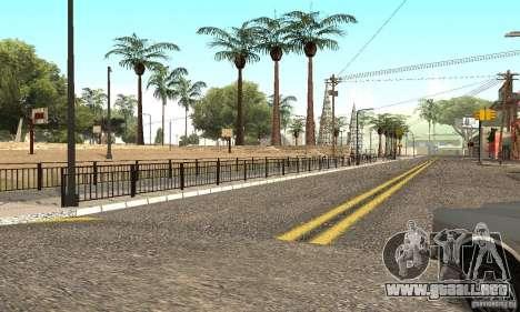 Grove Street 2012 V1.0 para GTA San Andreas quinta pantalla