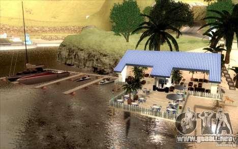 Club de playa para GTA San Andreas tercera pantalla