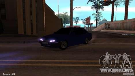 BAZ 21099 para vista lateral GTA San Andreas