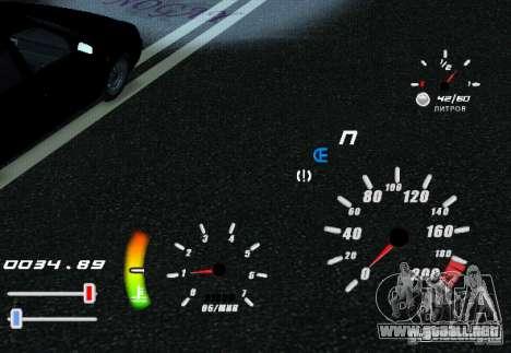 Un velocímetro único para GTA San Andreas