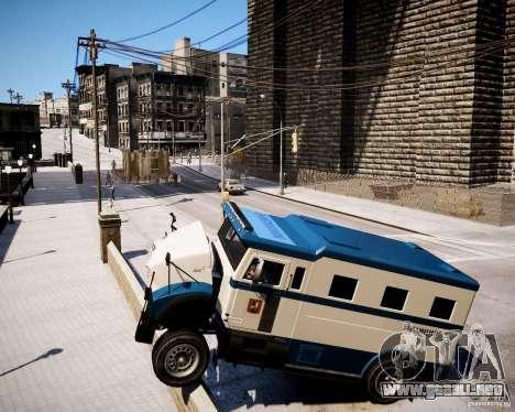 Russian Police Stockade para GTA 4 visión correcta
