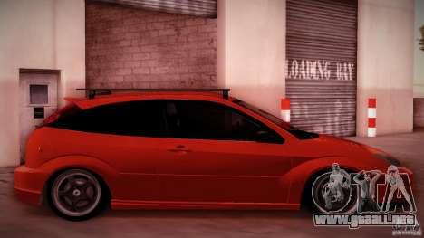 Ford Focus SVT Clean para GTA San Andreas vista hacia atrás
