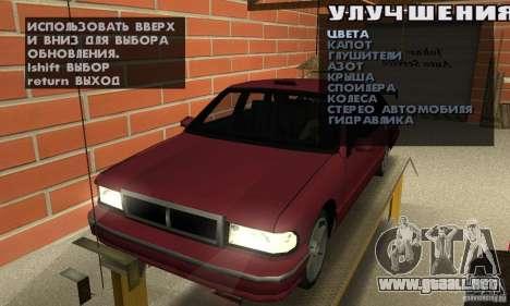 Johnsons Business (Johnsons Auto Service) para GTA San Andreas segunda pantalla