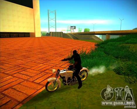 1923 ACE 1200cc para la vista superior GTA San Andreas