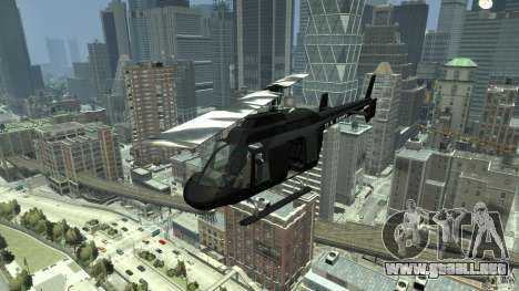 Black U.S. ARMY Helicopter v0.2 para GTA 4