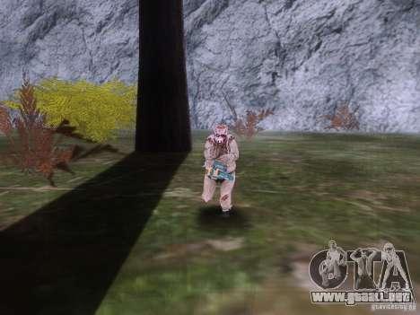 Piggsy on Mount Chilliad para GTA San Andreas sucesivamente de pantalla
