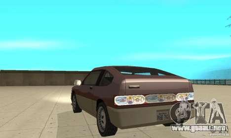 New lights and crash para GTA San Andreas tercera pantalla