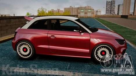 Audi A1 Quattro para GTA 4 left