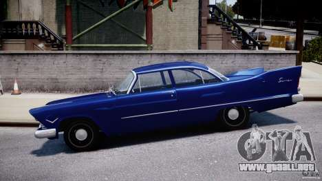 Plymouth Savoy Club Sedan 1957 para GTA 4 left