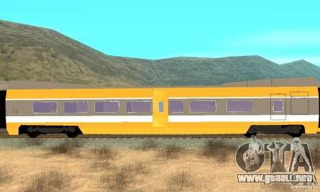 TGV SOUTH WEST para la visión correcta GTA San Andreas