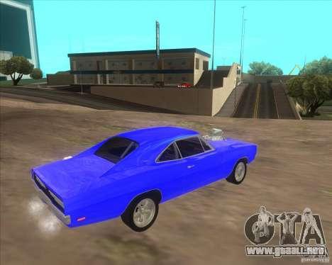 Dodge Charger RT 1970 The Fast and The Furious para la visión correcta GTA San Andreas