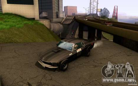 Ford Mustang Boss 302 para las ruedas de GTA San Andreas