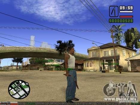 Pak armas para GTA San Andreas quinta pantalla