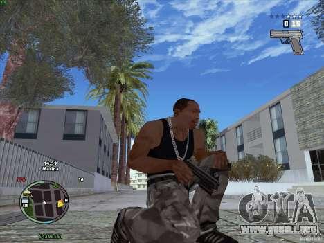 Pack de GTA IV para GTA San Andreas segunda pantalla