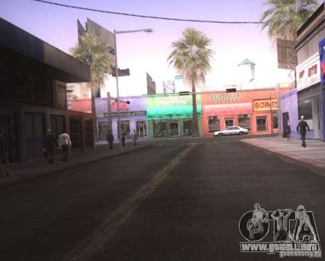ENBSeries para Pack Ultra Vegetetions para GTA San Andreas segunda pantalla