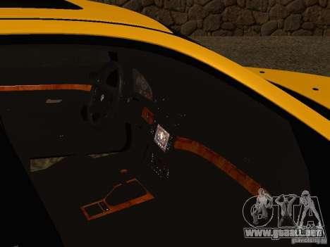 BMW 540i para visión interna GTA San Andreas