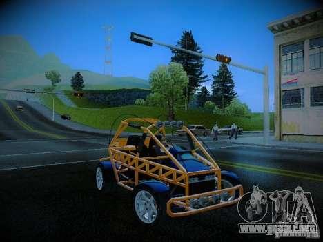 Buggy From Crash Rime 2 para visión interna GTA San Andreas