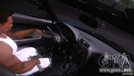 Mazda RX-7 Veilside v3 para GTA San Andreas vista hacia atrás