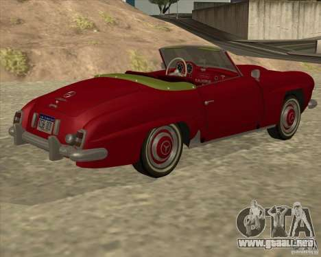 Mercedes Benz 190SL 1960 para GTA San Andreas left