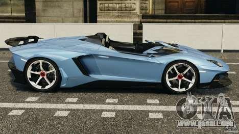 Lamborghini Aventador J 2012 para GTA 4 left