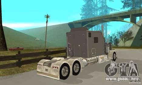 Peterbilt 379 Custom Legacy para la visión correcta GTA San Andreas