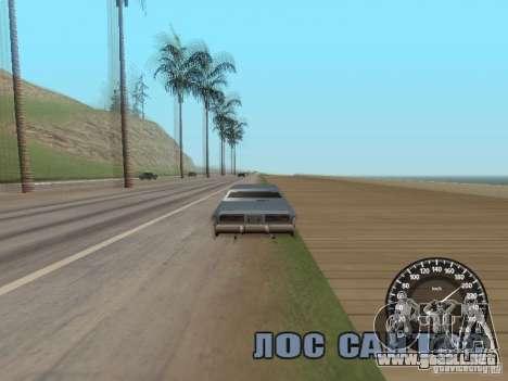 Velocímetro Audi para GTA San Andreas tercera pantalla