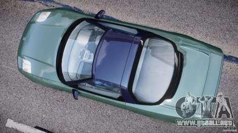 Honda NSX NA2 [Beta] para GTA 4 visión correcta