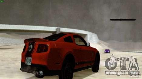 Direct R v1.0 para GTA San Andreas sucesivamente de pantalla