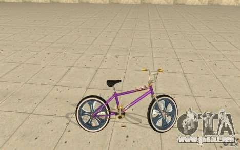 Spin Wheel BMX v1 para GTA San Andreas left